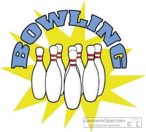 Bowling Words and Pins